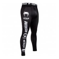 Брюки компрессионные VENUM LOGOS COMPRESSSION TIGHTS - BLACK/WHITE