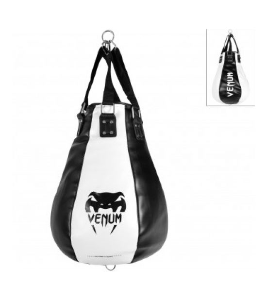 Боксерский мешок VENUM CLASSIC UPPER CUT TRAINING BAG - BLACK/WHITE