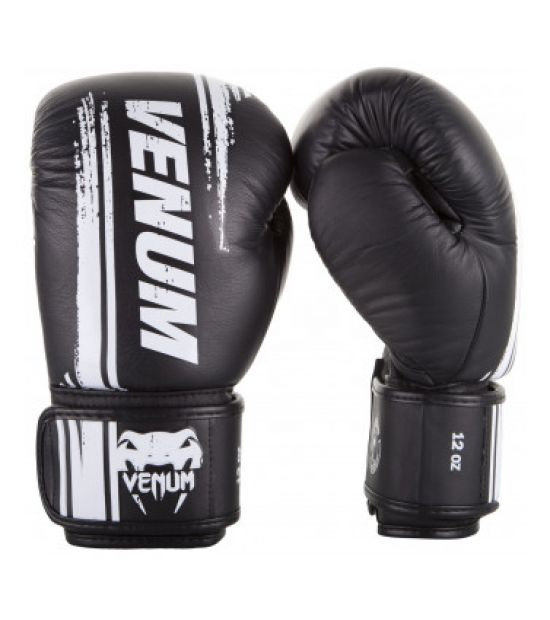 Боксерские перчатки  VENUM BANGKOK SPIRIT BOXING GLOVES - NAPPA LEATHER - BLACK
