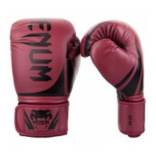 Боксерские перчатки VENUM CHALLENGER 2.0 BOXING GLOVES - RED WINE/BLACK