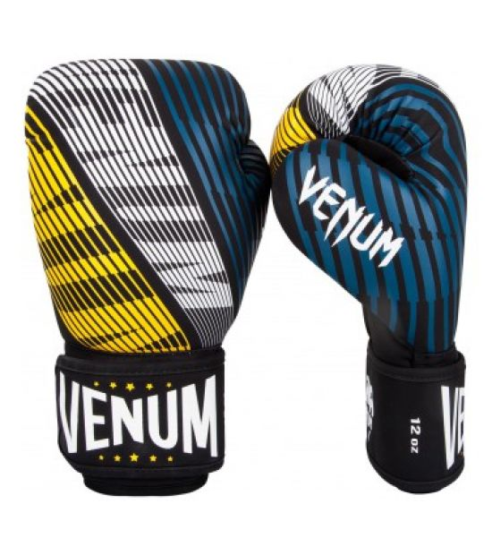 Боксерские перчатки VENUM PLASMA BOXING GLOVES - BLACK/YELLOW