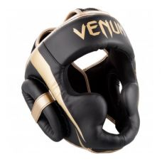 Боксерский шлем VENUM ELITE HEADGEAR - BLACK/GOLD