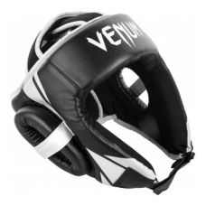 Боксерский шлем  VENUM CHALLENGER OPEN FACE HEADGEAR - BLACK