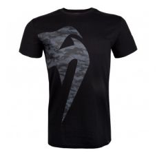 Футболка  VENUM GIANT CAMO 2.0 T-SHIRT - BLACK/URBAN CAMO