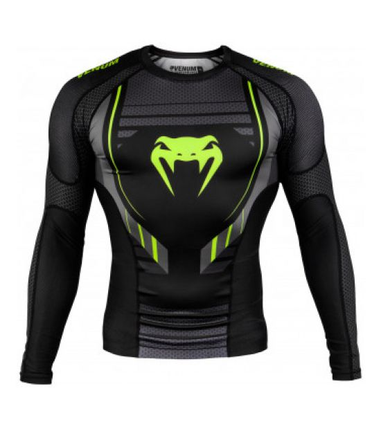 Рашгард VENUM TECHNICAL 2.0 RASHGUARD - LONG SLEEVES - BLACK/YELLOW
