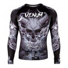 Рашгард VENUM MINOTAURUS RASHGUARD - LONG SLEEVES - BLACK/WHITE