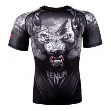 Рашгард  RASHGUARD VENUM WEREWOLF - SHORT SLEEVES - BLACK/GREY