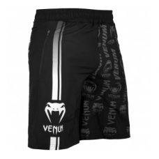 Шорты VENUM LOGOS FITNESS SHORTS - BLACK/WHITE