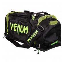 СУМКА  VENUM TRAINER LITE SPORT BAG - BLACK/NEO YELLOW
