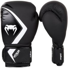 Боксерские перчатки VENUM BOXING GLOVES CONTENDER 2.0 - BLACK/GREY-WHITE