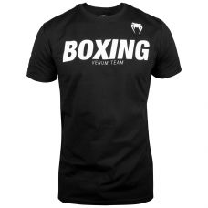 Майка VENUM BOXING VT T-SHIRT - BLACK/WHITE