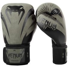 Боксерские перчатки VENUM IMPACT BOXING GLOVES - KHAKI/BLACK