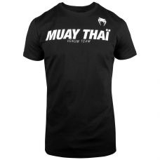 Майка VENUM MUAY THAI VT T-SHIRT - BLACK/WHITE