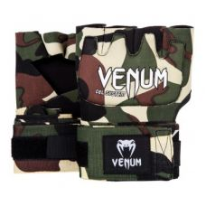 Бинты боксерские  VENUM KONTACT GEL GLOVE WRAPS - FOREST CAMO