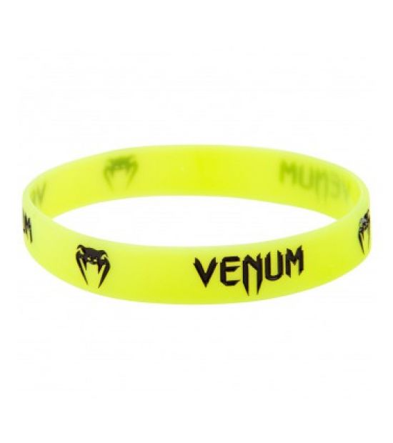 Браслет VENUM RUBBER BAND - FLUO YELLOW