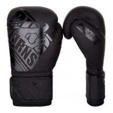 Боксерские перчатки  RINGHORNS NITRO BOXING GLOVES - BLACK/BLACK