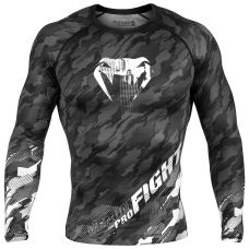 Рашгард VENUM TECMO RASHGUARD - LONG SLEEVES - DARK GREY
