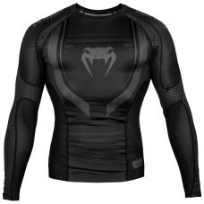 Рашгард VENUM TECHNICAL 2.0 RASHGUARD - LONG SLEEVES - BLACK/BLACK