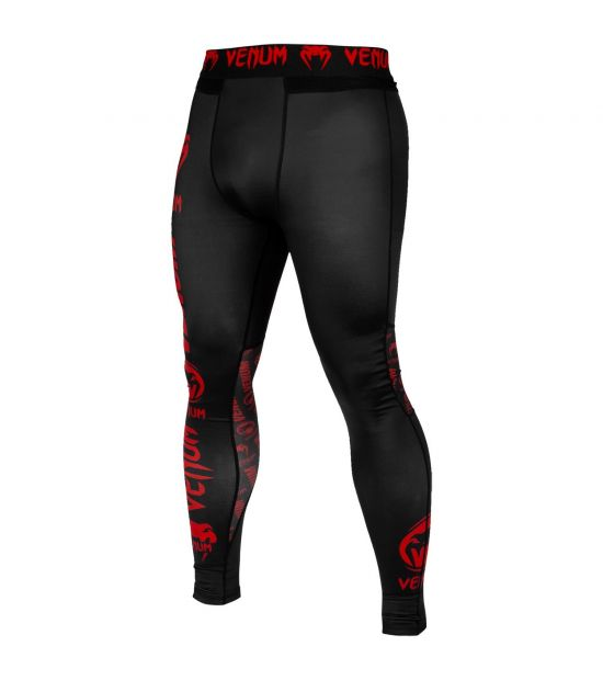 Штаны VENUM LOGOS - BLACK/RED