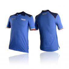 Поло MAN POLO OF OFFICIAL UNIFORM FOR ITALIAN NATIONAL OLIMPIC TEAM AT RIO 2016 OLYMPIC GAMES ROYAL - BXP-3027B - ROYAL
