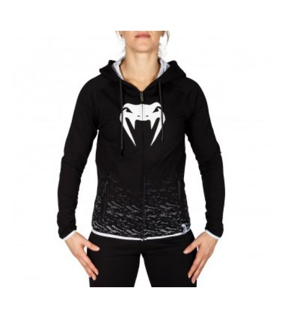 Худи VENUM CAMOLINE HOODY - BLACK/WHITE - FOR WOMEN