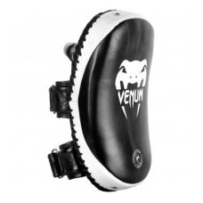 Пэды VENUM KICK PADS LEATHER-BLACK/WHITE (108)