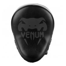Лапы тренерские  VENUM LIGHT FOCUS MITTS - BLACK/BLACK (PAIR)