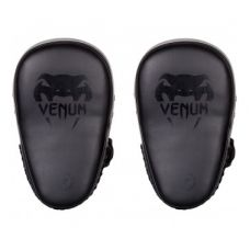 Пэды VENUM ELITE SMALL KICK PADS-BLACK/BLACK (114)