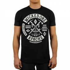 Футболка Wicked One APACHE TEE BLACK