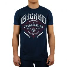 Футболка Wicked One  ORGANIZATION TEE NAVY