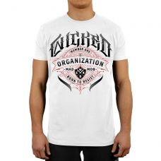 Футболка Wicked One  ORGANIZATION TEE WHITE