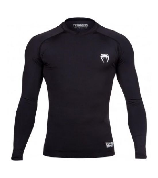 Рашгард VENUM CONTENDER 2.0 COMPRESSION T-SHIRT - LONG SLEEVES - BLACK/ICE