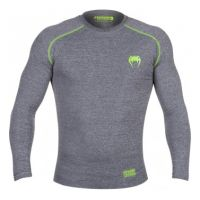 Рашгард  VENUM CONTENDER 2.0 COMPRESSION T-SHIRT - LONG SLEEVES - HEATHER GREY