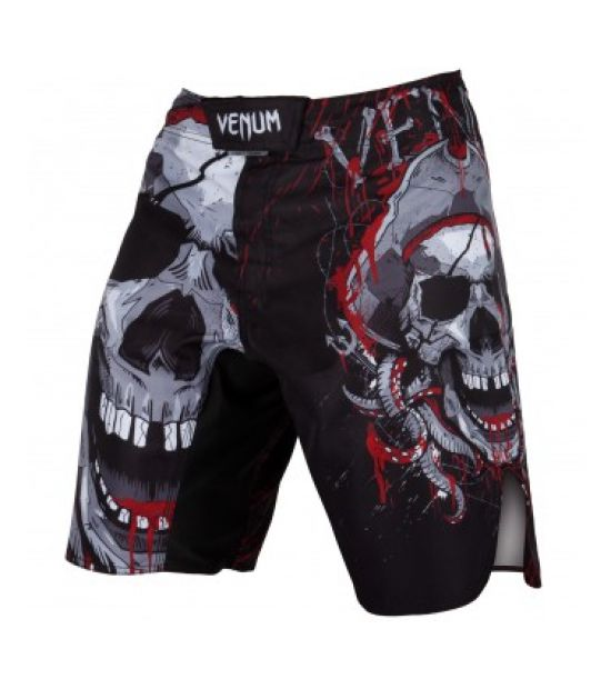Шорты  VENUM PIRATE 3.0 FIGHTSHORTS - BLACK/RED