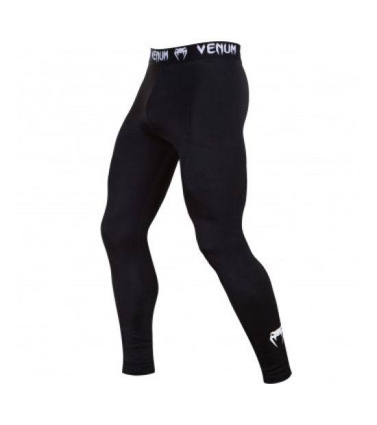 Брюки компрессионные  VENUM CONTENDER 2.0 COMPRESSION SPATS - BLACK/WHITE