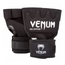 "Бинты боксерские  VENUM ""KONTACT"" GEL GLOVE WRAPS - BLACK"