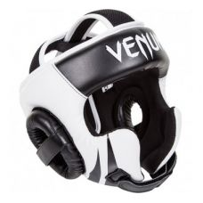 Боксерский шлем VENUM CHALLENGER 2.0 HEADGEAR - HOOK & LOOP STRAP - BLACK/ICE