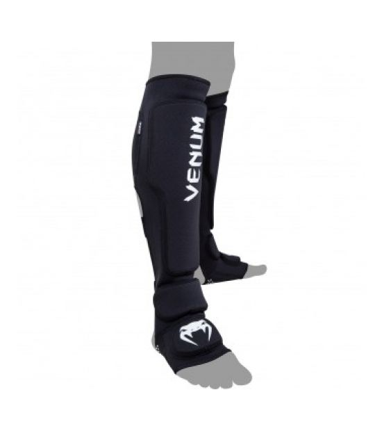 Накладки на ноги  VENUM KONTACT EVO SHINGUARDS - BLACK