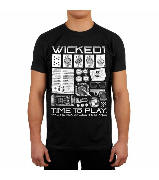 Футболка Wicked One Risk or Lose Black