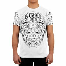 Футболка Wicked One Skull White