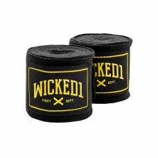 Бинты боксерские Wicked One Shelter Black/Yellow