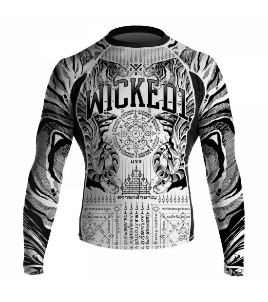 Рашгард Wicked One ML Tiger White
