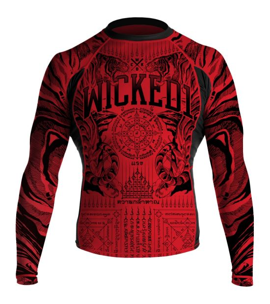 Рашгард Wicked One ML Tiger Red