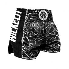 Шорты WIcked One Muay-Thai Mexican Skull Black