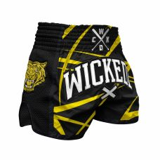 Шорты WIcked One Muay-Thai Claws Yellow/Black