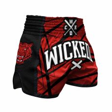 Шорты WIcked One Muay-Thai Claws Red/Black