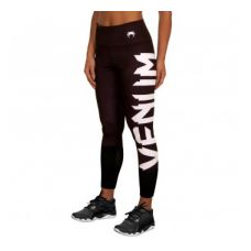 Брюки компрессионные  VENUM GIANT LEGGINGS - BLACK/WHITE - FOR WOMEN