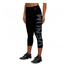 Брюки компрессионные VENUM GIANT LEGGINGS CROPS - BLACK/GREY - FOR WOMEN