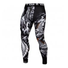 Брюки компрессионные VENUM DRAGON'S FLIGHT SPATS - BLACK/WHITE
