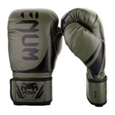 Боксерские перчатки  VENUM CHALLENGER 2.0 BOXING GLOVES - KHAKI/BLACK